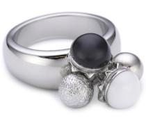 Damen-Ring Boule Edelstahl