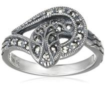 Ring 925 Silber vintage-oxidized Markasit 50 (15.9) - L0115R/90/B3/50