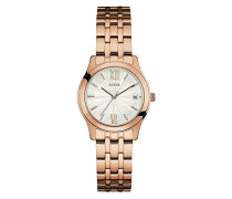 Damen-Armbanduhr Analog Quarz Edelstahl W0769L3