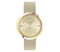 Datum klassisch Quarz Uhr mit Edelstahl Armband R4253103502