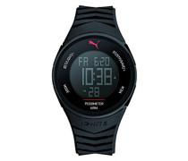 Armbanduhr 91135 IGNITE - BLACK Digital Quarz Plastik PU911351003
