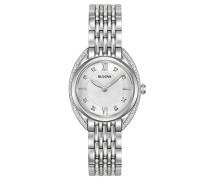 Analog Quarz Uhr mit Edelstahl Armband 96R212