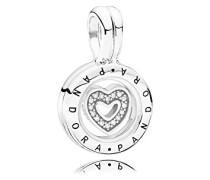 Charm - Medaillon für Armband 792144CZ