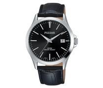 Analog Quarz Uhr mit Leder Armband PS9457X1