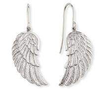 Flügel Ohrhänger für 925er-Sterlingsilber Größe 20 mm