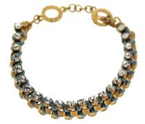 Damen-Armband Raiden gold/aqua 18 cm 00064