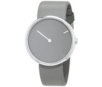 Herren-Armbanduhr Analog Quarz Leder 32252