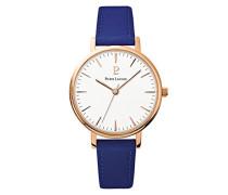 Damen Analog Quarz Uhr mit Leder Armband 090G916