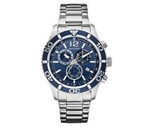 Armbanduhr XL Analog Quarz Edelstahl A16665G