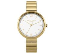 Analog Quarz Uhr mit Edelstahl Armband DD033GM