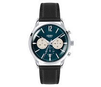 Armbanduhr Knightsbridge Chronograph Quarz Leder HL41-CS-0039