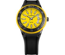 Armbanduhr Multi Zifferblatt Quarz Silikon 1-1784L