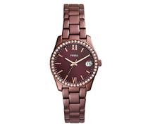 Analog Quarz Uhr mit Edelstahl Armband ES4320