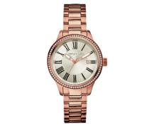 Damen-Armbanduhr Analog Quarz Edelstahl A17644M