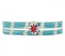Damen-Manschetten Armbänder Versilbert E18SIBISTU