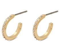 Damen-Creole Vergoldet Kristall 601832043
