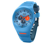 Ice Watch Chronograph Quarz Smart Armbanduhr mit Silikon Armband 014949