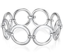 Armband verziert mit Kristallen von Swarovski® rhodiniert Zirkonia weiß - 60756007