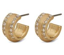 Damen-Creole Vergoldet Kristall 611832003