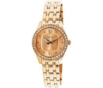 Damen-Armbanduhr Analog Quarz Edelstahl W0762L3