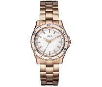 Damen-Armbanduhr Analog Quarz Edelstahl W0557L2