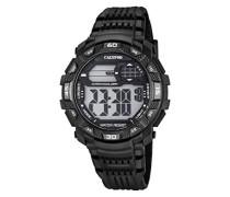 -Armbanduhr Digital Digital Plastik K5702/8