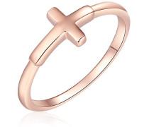Damen-Ring 925 Silber teilvergoldet
