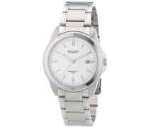 Armbanduhr XL Analog Quarz Edelstahl 11150542