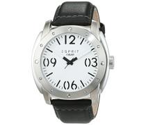Analog Quarz Uhr mit Leder Armband ES106381002