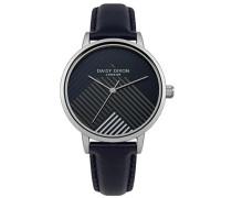 Datum klassisch Quarz Uhr mit PU Armband DD056US