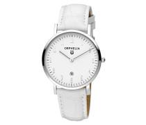Damen-Armbanduhr Light Lusion Analog Quarz Leder