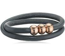 Damen-Armband Titan Leder 40.0 cm - 0397-0140