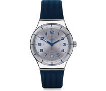Digital Automatik Uhr mit Silikon Armband YIS409