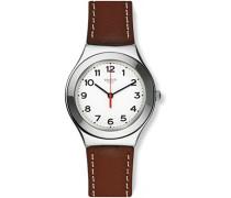 Herren Digital Quarz Uhr mit Leder Armband YGS131