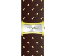 4701501 – Armbanduhr Analog Damenuhr mit Lederarmband
