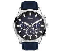Time Herren-Armbanduhr SO-3336-LC
