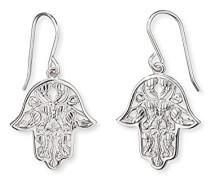 Hand Fatimas Ohrhänger für rhodiniertes 925er-Sterlingsilber Größe 20 mm