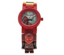 Ninjago Hands of Time Kai Kinder-Armbanduhr mit Minifigur und Gliederarmband zum Zusammenbauen