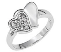 Ring, Sterling-Silber 925, Zirkonoxid, 50 (15.9)