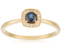 Ring 18 Karat (750) Gelbgold Saphir-badm 07070-0001