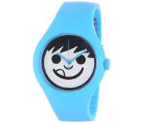 Unisex-Armbanduhr Analog Quarz Blau NF0206CYN