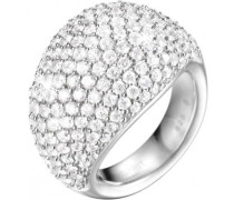 Damen-Ring 925 Sterling Silber Zirkonia Nyxia