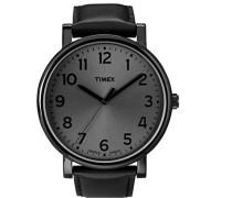 Unisex-Armbanduhr Schwarz Quarz Leder T2N346D7