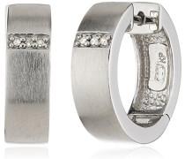 Celesta Creolen 925 Sterling Silber 6x Diamanten 0.03 ct. 360210171