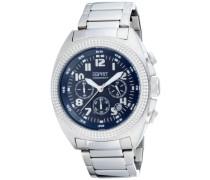 Armbanduhr Chronograph Quarz Edelstahl ES900491007