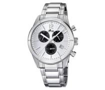 Armbanduhr Chronograph Quarz Edelstahl 15849/5