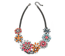 Costume Statement Blumen Halskette von 45–51 cm