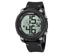 Digital Quarz Uhr mit Plastik Armband K5731/1