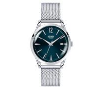 Datum klassisch Quarz Uhr mit Edelstahl Armband HL39-M-0029