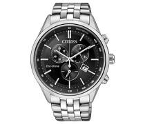 Armbanduhr Chronograph Quarz Edelstahl AT2141-87E